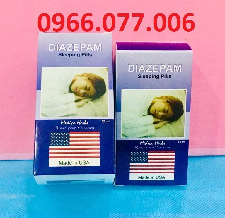 Thuốc ngủ Diazepam dạng nước của Mỹ
