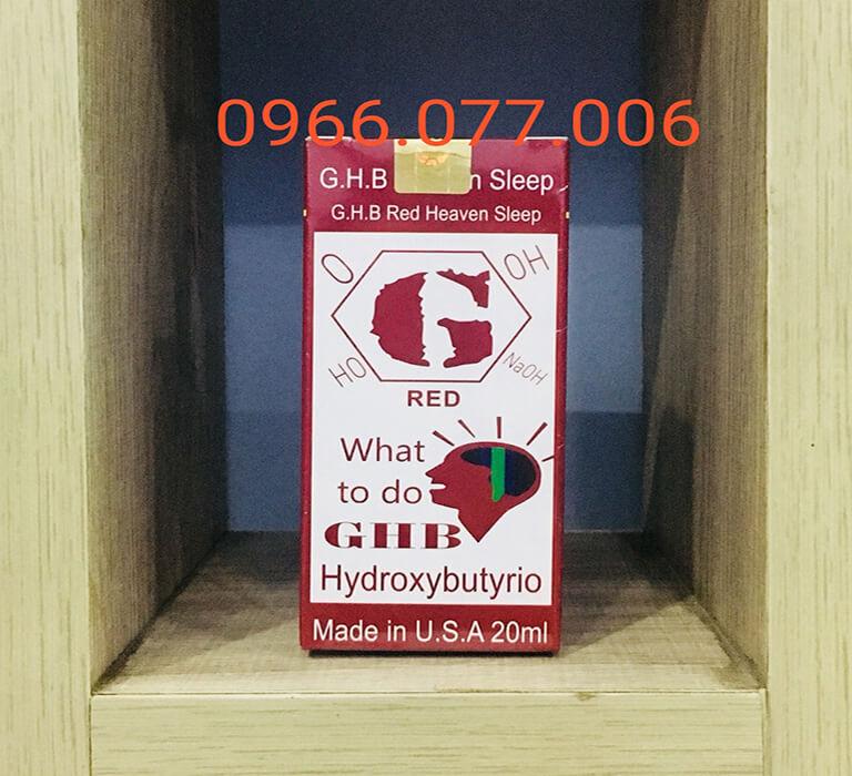 Thuốc mê ngủ dạng nước GHB Red
