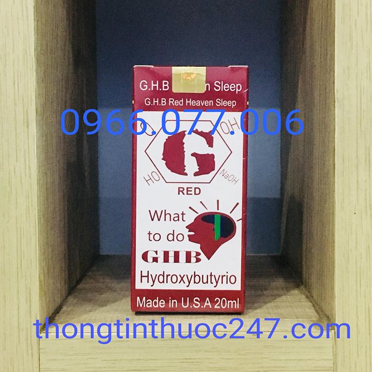 Thuốc mê GHB Red