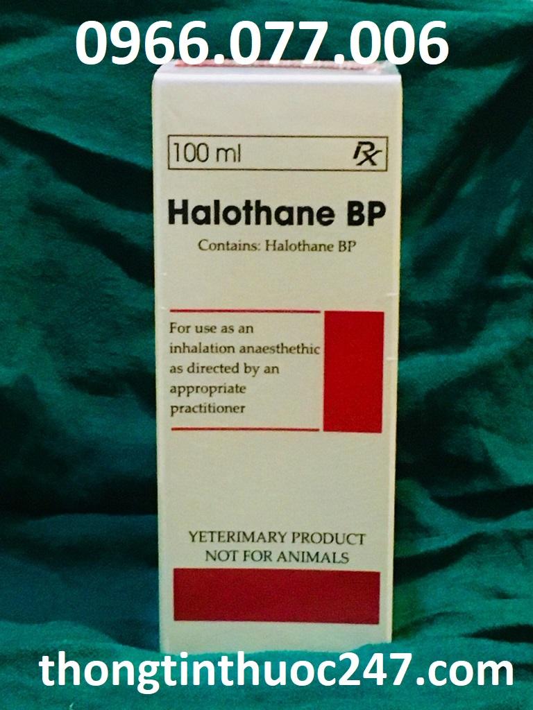 Thuốc mê dạng hơi Halothane
