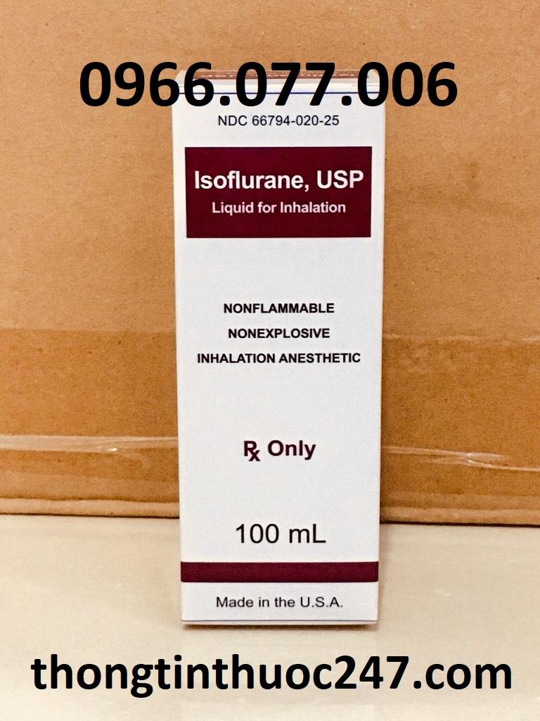 Tương tác của thuốc mê Isoflurane mà bạn cần lưu ý