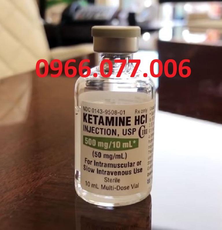 Ketamine dùng gây mê