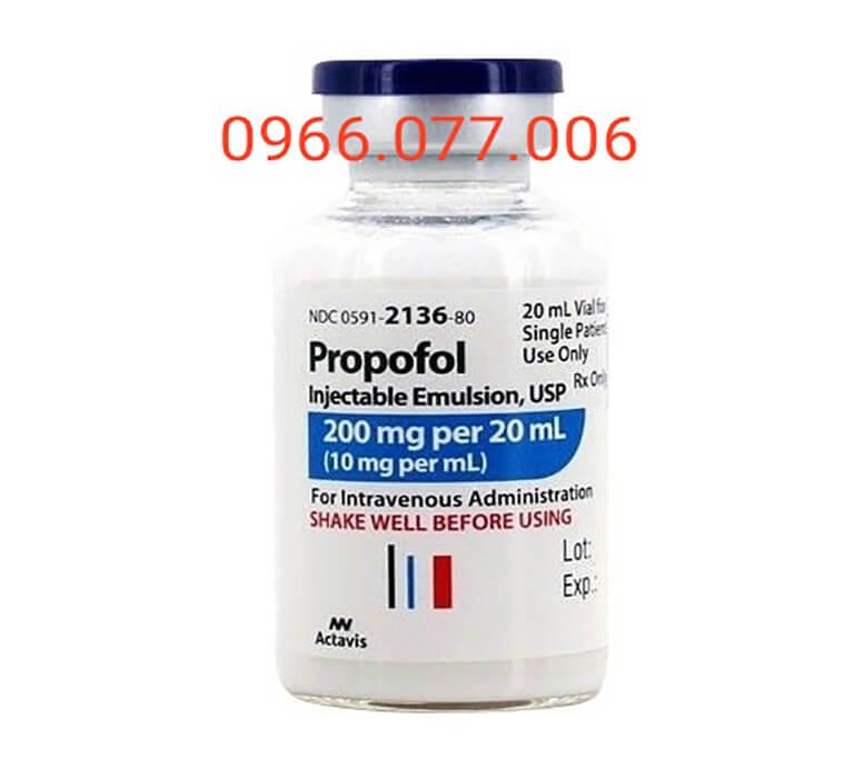 Thuốc mê dạng nước Propofol