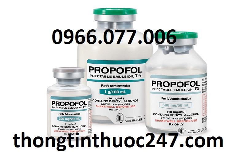Thuốc mê Propofol