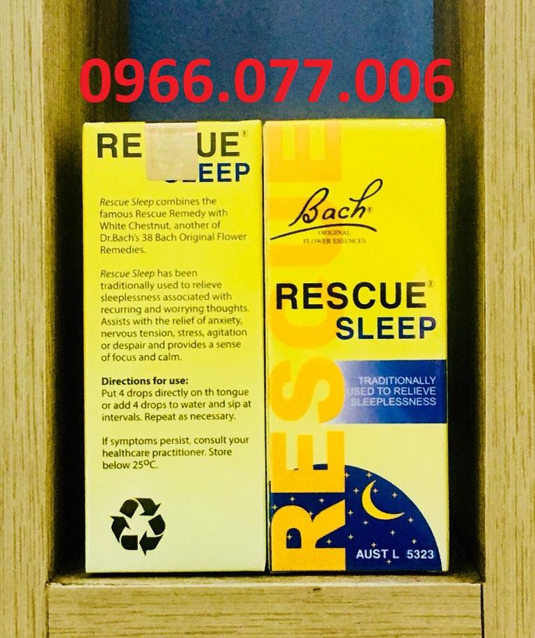 Thuốc ngủ Rescue Sleep