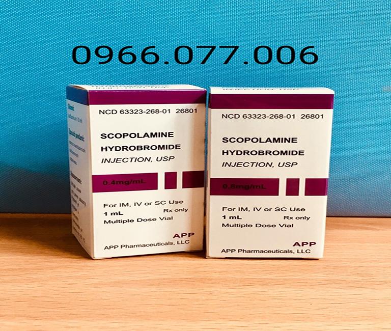 thuốc mê Scopolamine 0.8mg dạng bột