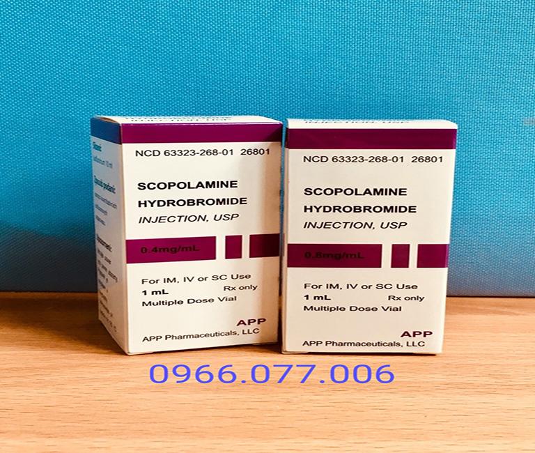 Thuốc lú Scopolamine 0,8mg dạng nước