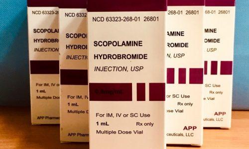 Thuốc Mê Điều Khiển Scopolamine 0.4mg Dạng Xịt Bán Ở Đâu?