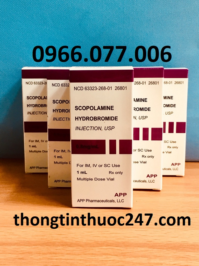Thuốc mê điều khiển Scopolamine 0.4mg
