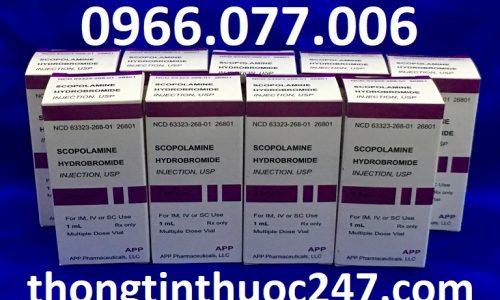 Thuốc Hướng Thần Scopolamine 0.4mg Dạng Bột Liều Dùng Và Giá