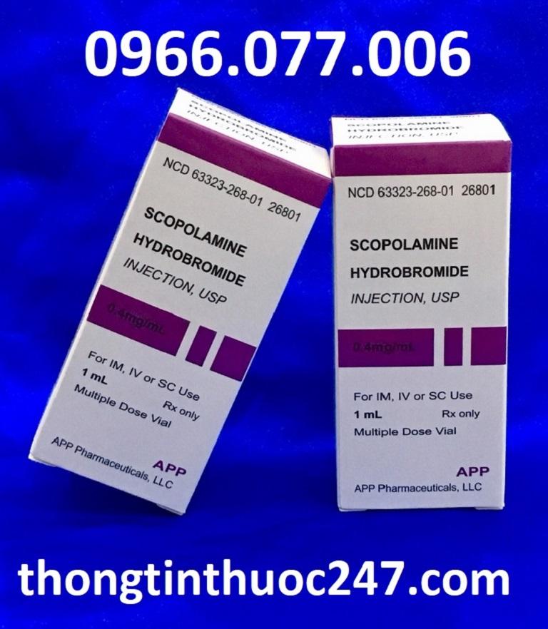 Một số lưu ý khi dùng Scopolamine chữa bệnh