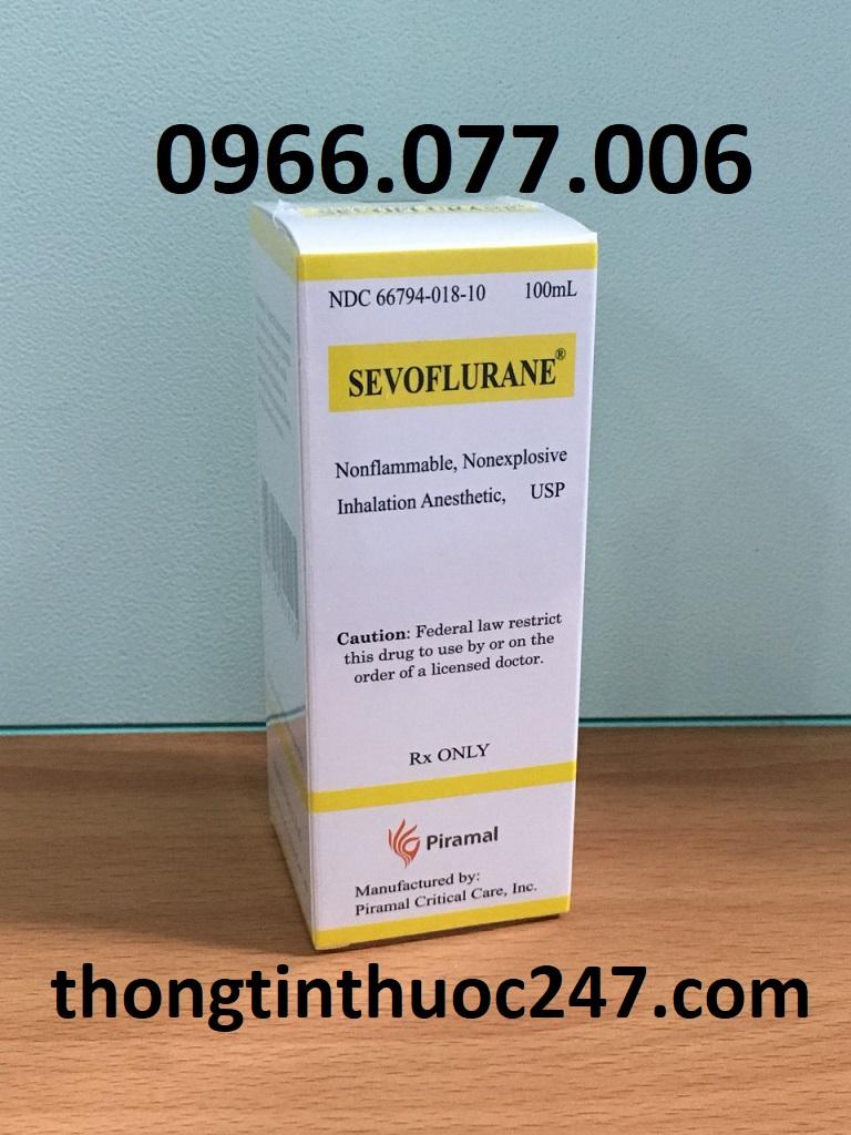 Thuốc mê Sevoflurane có thể mang đến một số tác dụng phụ