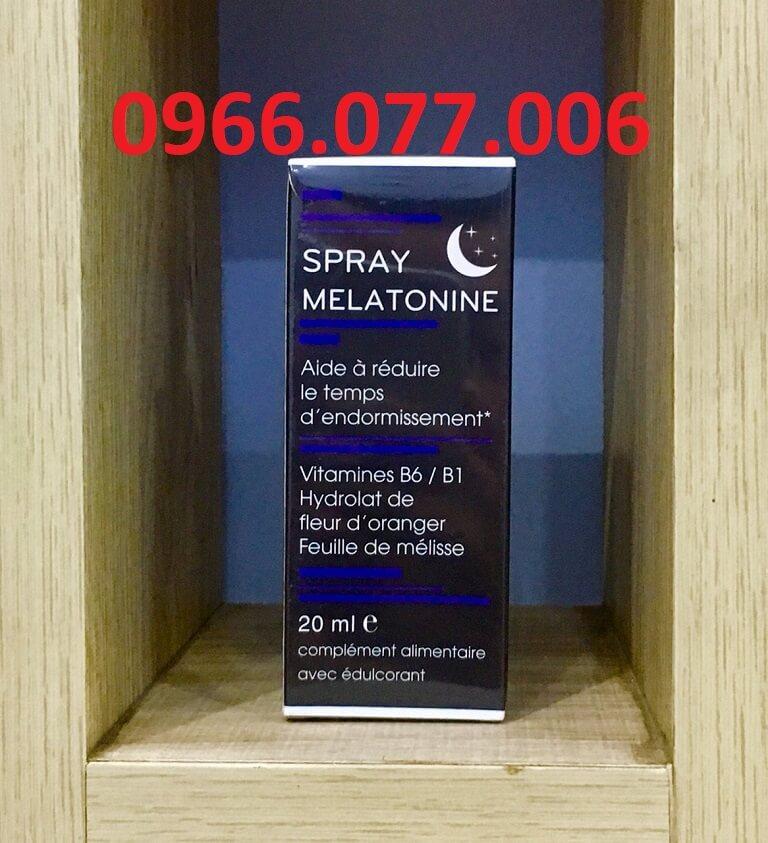 Thuốc ngủ Melatonin Spray
