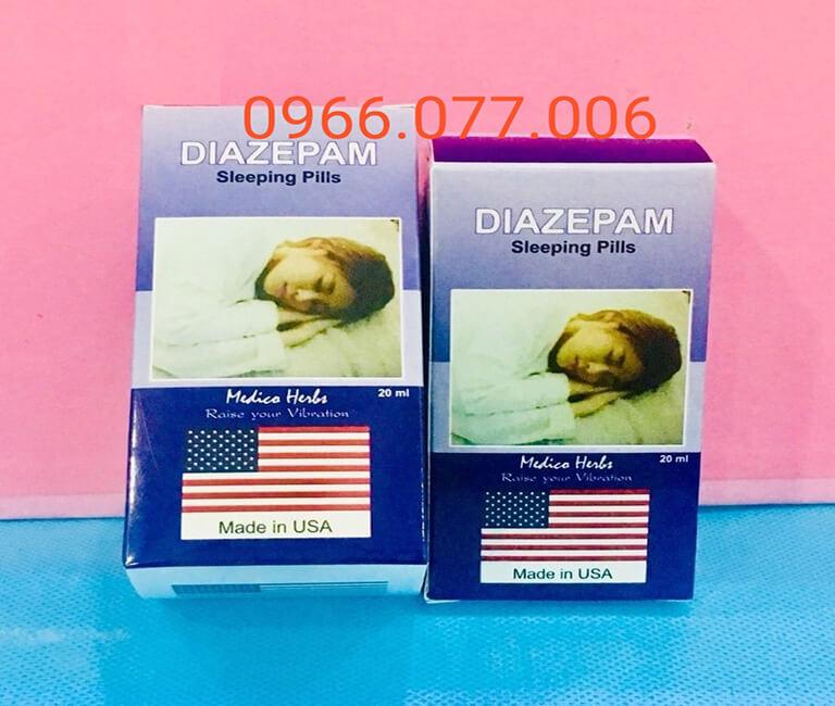Thuốc ngủ mạnh dạng nước Diazepam