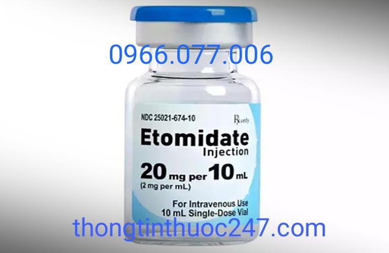 Thuốc gây mê Etomidate