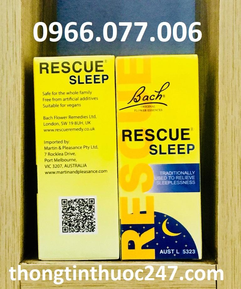 Thuốc ngủ Rescue Sleep của Úc