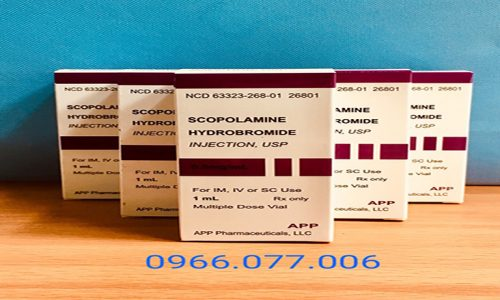 Thuốc Lú Scopolamine 0.8mg Dạng Nước Công Dụng Và Nơi Bán