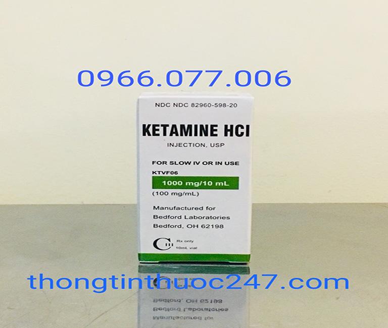 Thuốc mê Ketamine HCL dạng bột cực mạnh
