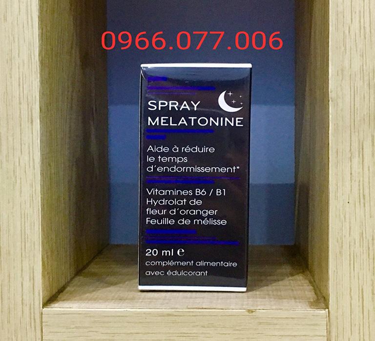 Melatonine Spray - Thuốc ngủ dạng xịt có tác dụng nhanh