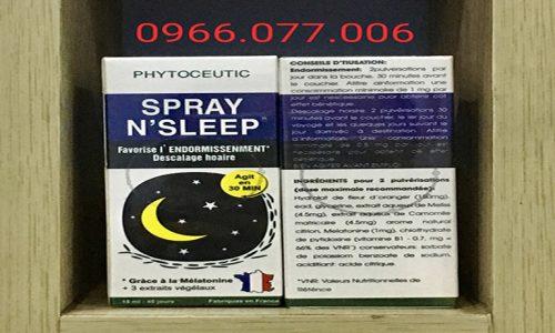 Thuốc Ngủ Spray N'Sleep Cải Thiện Giấc Ngủ Nơi Mua, Giá Bán