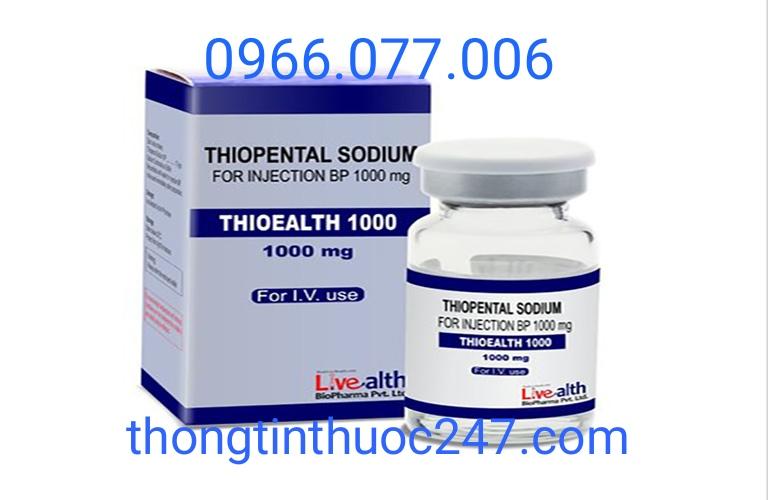 Thuốc Thiopento - Thuốc mê đường tĩnh mạch