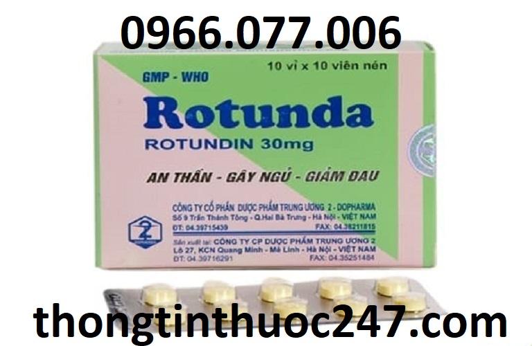 Thuốc ngủ Rotunda