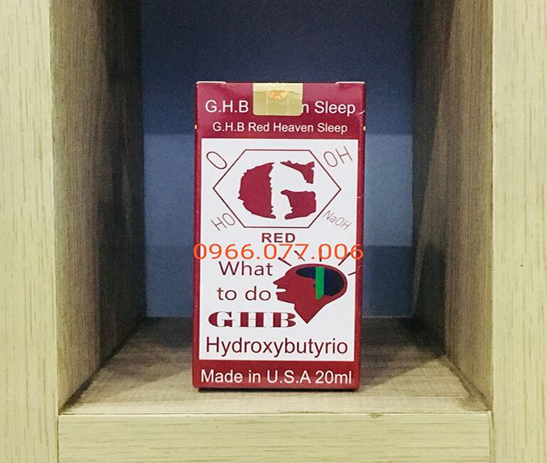 Thuốc mê dạng nước GHB Red