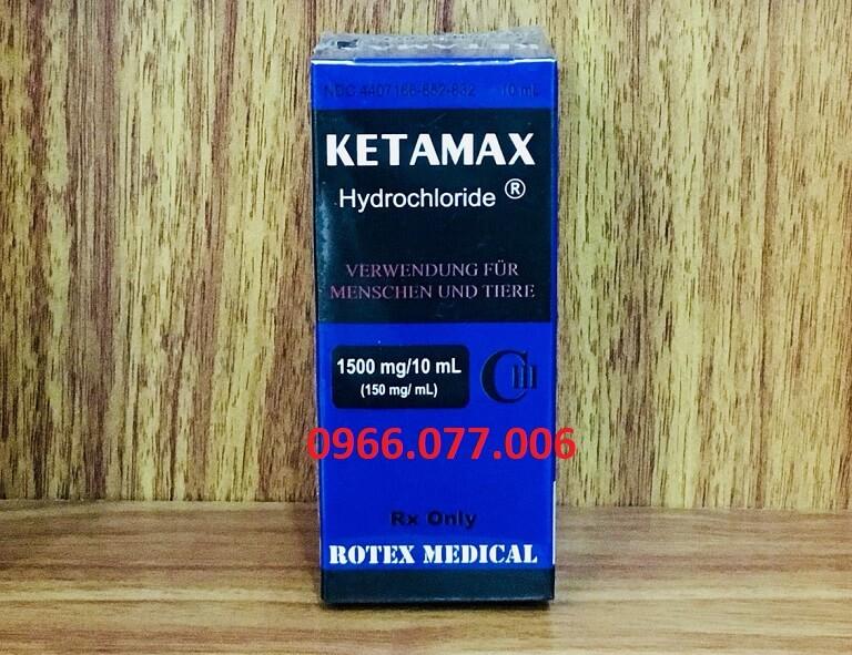 Thuốc Ketamax gây nghiện