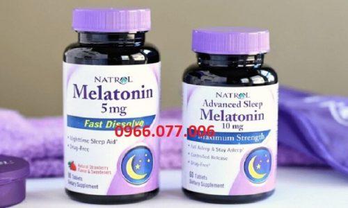 Thuốc Ngủ Melatonin 5 – 10mg: Giá Bán, Công Dụng, Thận Trọng