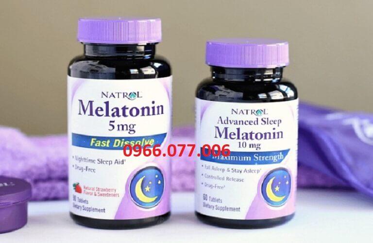 Thuốc Melatonin của Natrol