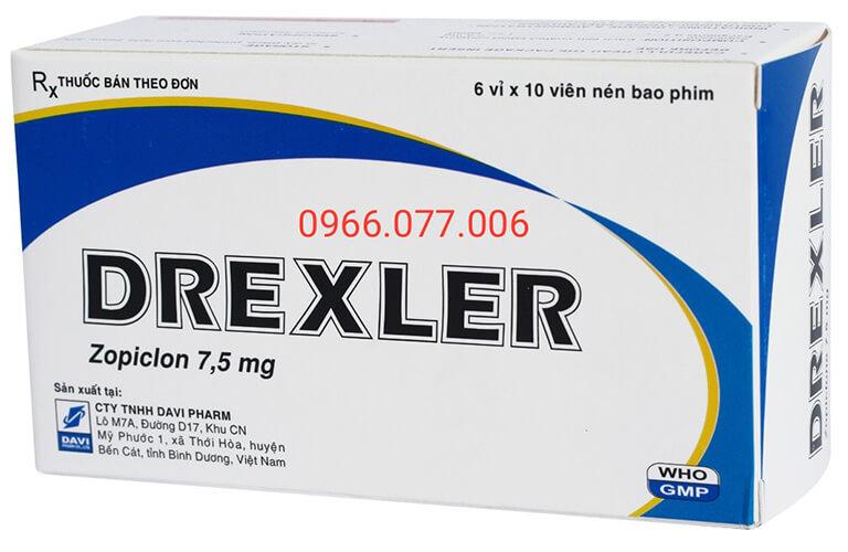 Thuốc ngủ Drexler