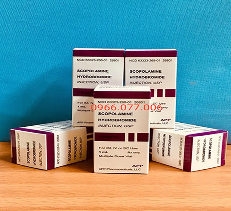 Thuốc mê dạng bột Scopolamine