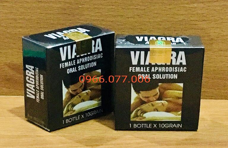 Thuốc kích dục Viagra dạng viên dành cho nam và nữ