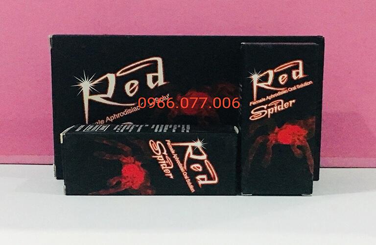 Thuốc kích dục nữ Red Spider Nhện đỏ
