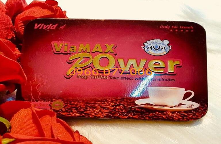 Thuốc kích dục nữ Viamax Power dạng bột coffee