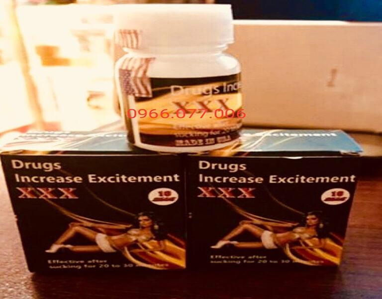 Thuốc kích dục nữ XXX