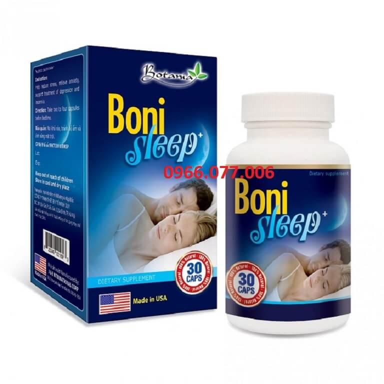 Thuốc ngủ Boni Sleep