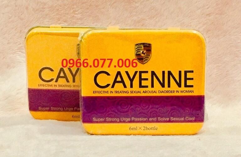Thuốc kích dục Cayenne