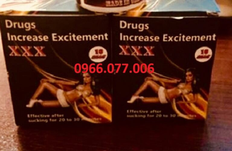 Thuốc kích dục nữ Drugs Increase Excitement