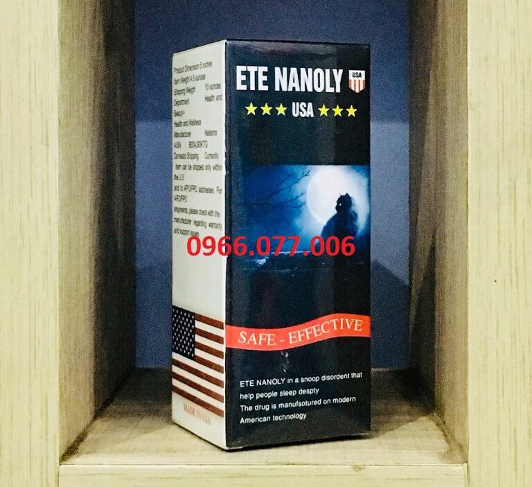 Thuốc ngủ Ete Nanoly