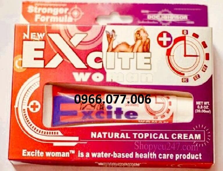 Thuốc kích dục dạng gel bôi Excite Woman