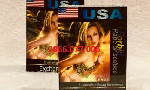 Thuốc Kích Dục Nữ Excitement USA Chính Hãng, Chất Lượng Cao