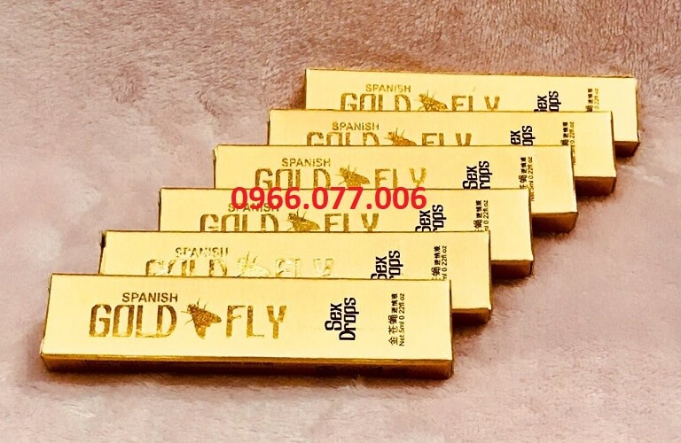 Thuốc kích dục nữ dạng nước giá rẻ Gold Fly