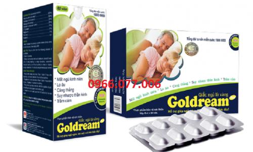 Thuốc Ngủ Goldream: Công Dụng, Liều Dùng, Điểm Bán Uy Tín
