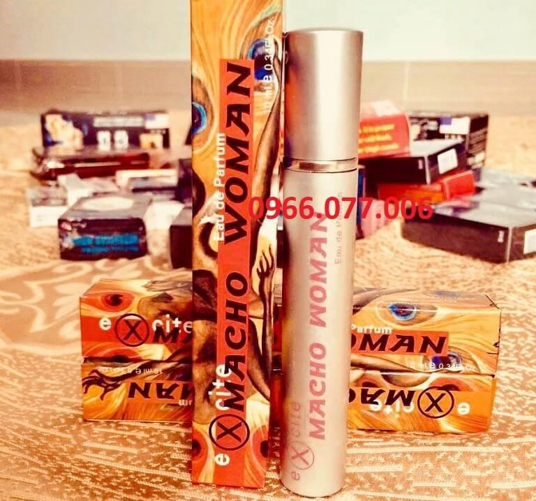 Macho Woman - Nước hoa kích dục nữ