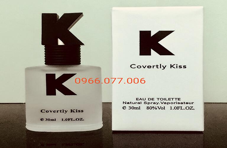 Nước hoa kích dục Covertly Kiss dùng cho nam và nữ