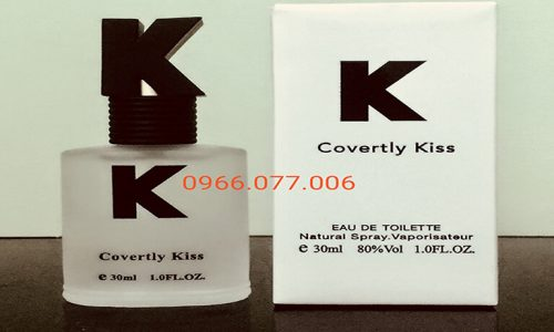 Nước Hoa Kích Dục Nữ Covertly Kiss Hàng Nhập Khẩu Cực Tốt