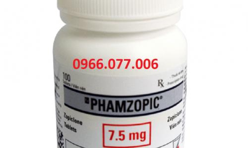 Thuốc Ngủ Phamzopic: Liều Dùng, Công Dụng, Thành Phần, Lưu Ý