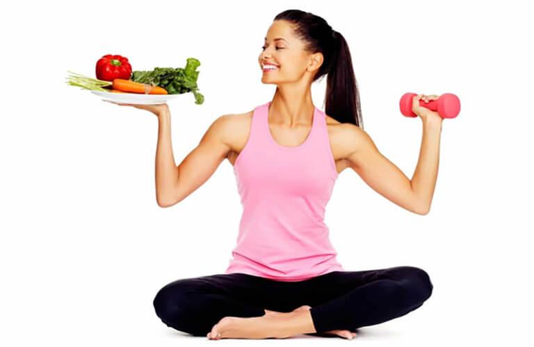 Kết hợp chế độ ăn uống và rèn luyện thể thao phù hợp để giải tỏa tâm lý, kích thích tình dục