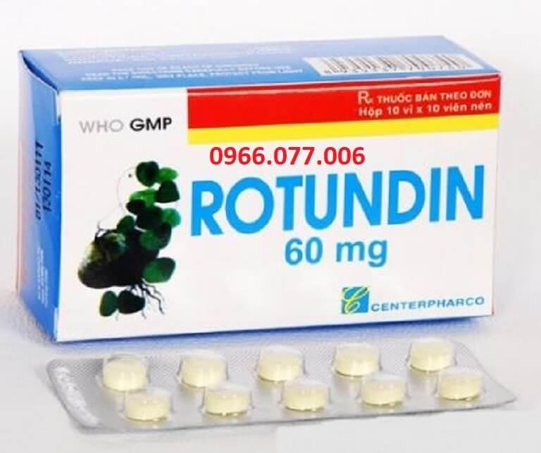 Thuốc ngủ Rotundin 60mg